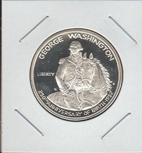gton 250th Anniversary Commerative Half Dollar Proof DCAM US Mint ()