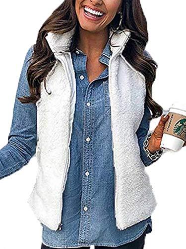PRETTYGARDEN Womens Lightweight Waistcoat Pockets product image