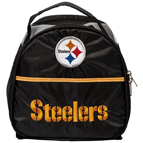 (KR Strikeforce Pittsburgh Steelers Single Add On Bowling Bag, Multicolor)