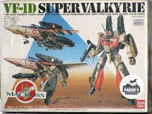 1 100 VF-1D variable Super Valkyrie (japan import)