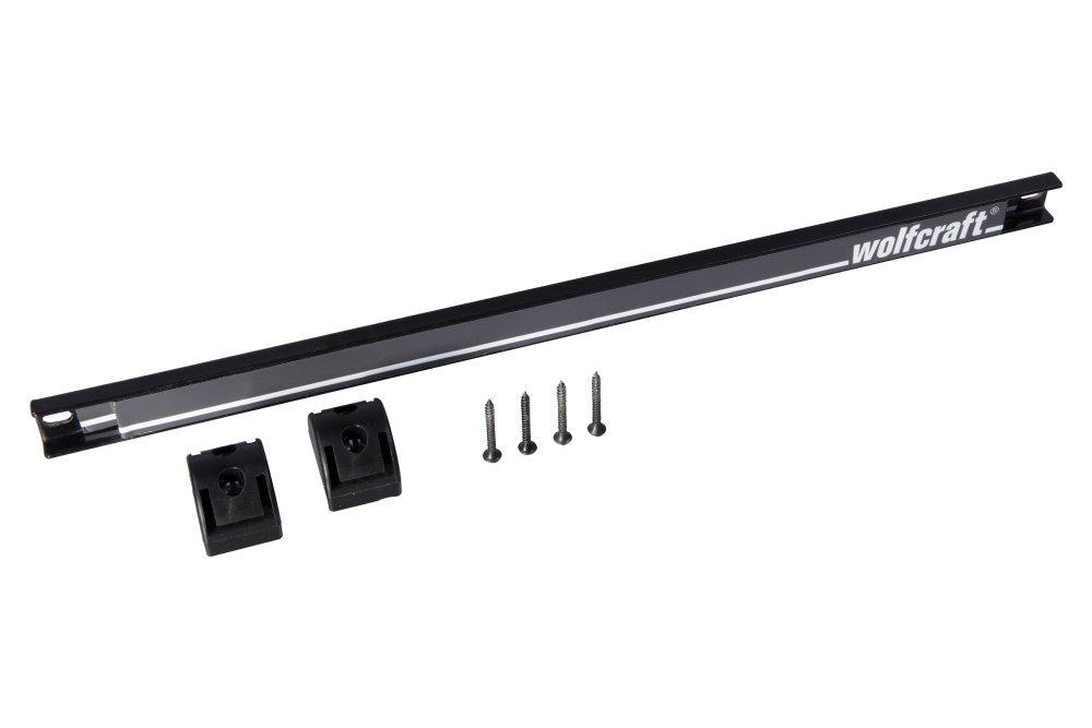 Wolfcraft 6806000 Barra portaherramientas magn/ética Set de 7 Piezas 460 mm