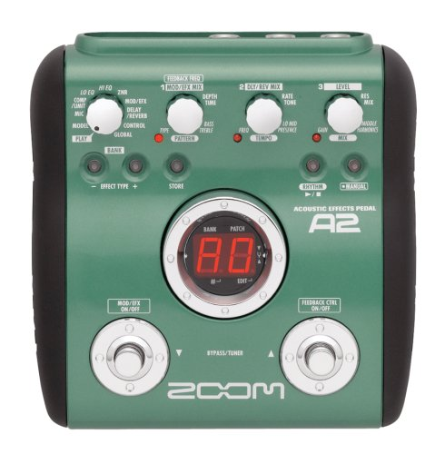 Zoom A2 Acoustic Guitar Effects