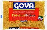 Goya Foods Fidelini Pasta, 7-Ounce (Pack of 20)