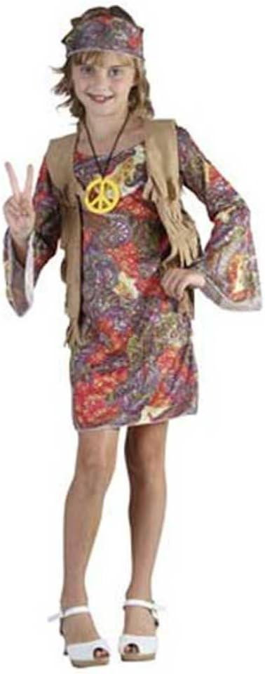 Disfraz niña Hippie - talla 4 - 6 años: Amazon.es: Juguetes y juegos