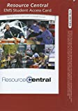 Resource Central EMS, Limmer, Dan and Mistovich, Joe, 0132803216
