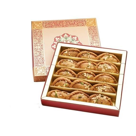 GHASITARAM'S Punjabi Halwai Gujiya Sweets (400 g)