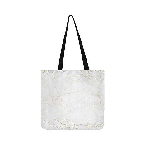 Marble White And Texture Tile Bolso De Hombro De Cerámica ...