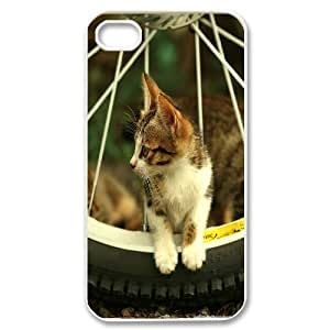 Case for IPhone 4/4s, Kitten Case for IPhone 4/4s, Evekiss White