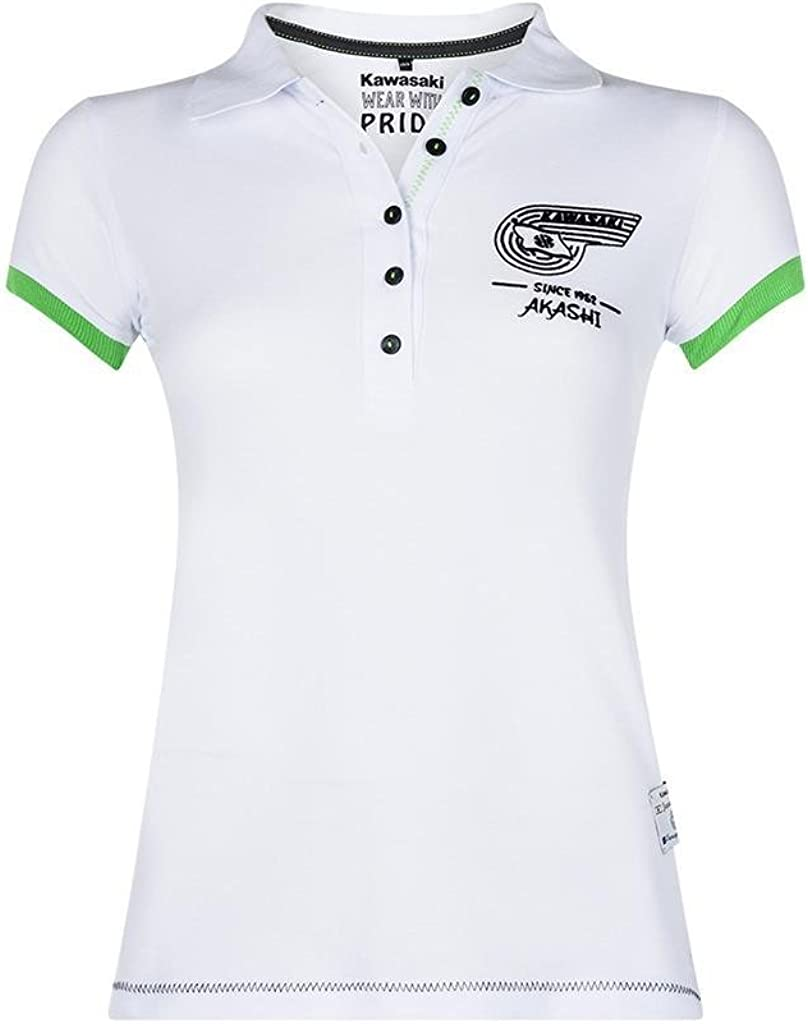 Kawasaki - Polo - Cuello de Polo - para Mujer: Amazon.es: Ropa y ...