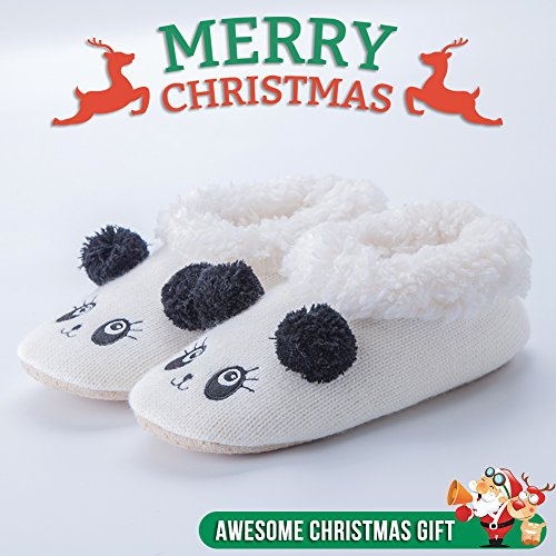Pantofole Da Donna Di Casa Sfilata Di Natale Delle Donne Maamgic Delle Signore Della Camera Da Letto Dellinterno Delle Pantofole Di Inverno Della Camera Da Letto Sveglie