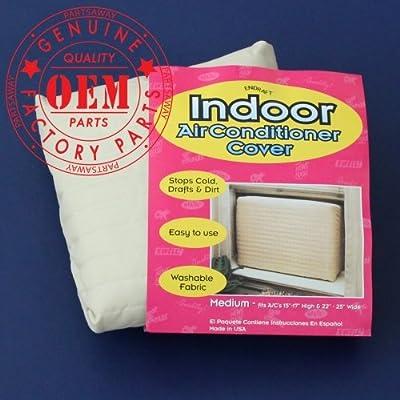 Whirlpool 4392940 Air Conditioner Indoor Cover, Medium