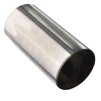 FTDDFJAS 1pc Plata 304 Hoja fina de lámina de acero ...