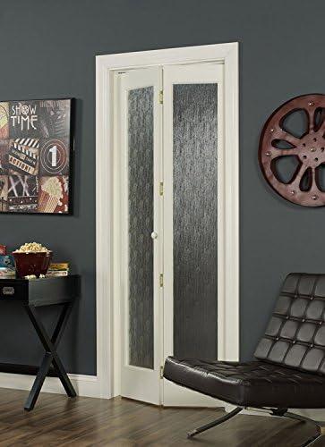 pinecroft 854720 Aspen mitad cristal Bifold interior puerta de madera: Amazon.es: Bricolaje y herramientas