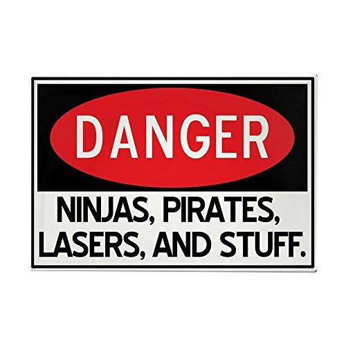 (CafePress Pirates, Lasers, Ninjas, And Rectangle Magnet, 2