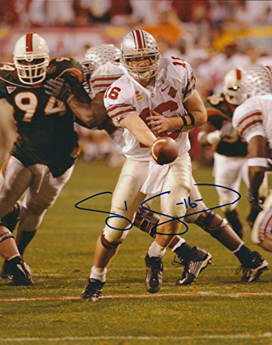 Ohio State University Memorabilia (Autographed Craig Krenzel Ohio State University 8x10 Photo)