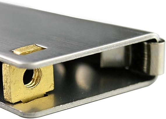 wheel Polea de Puerta corredera de baño de aleación de Titanio, Armario de Cocina Push-Pull CAM Core de Cobre, 1 Paquete de 2 Piezas.: Amazon.es: Hogar