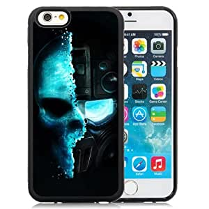 New Beautiful Custom Designed Cover Case For iPhone 6 4.7 Inch TPU With Tom Game Ghost Recon Skull Phone Case WANGJIANG LIMING