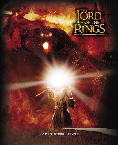 Click for larger image of Lord of the Rings 2007 Engagement Calendar