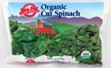 Organic Frozen Cut Spinach, 10 oz. Bag
