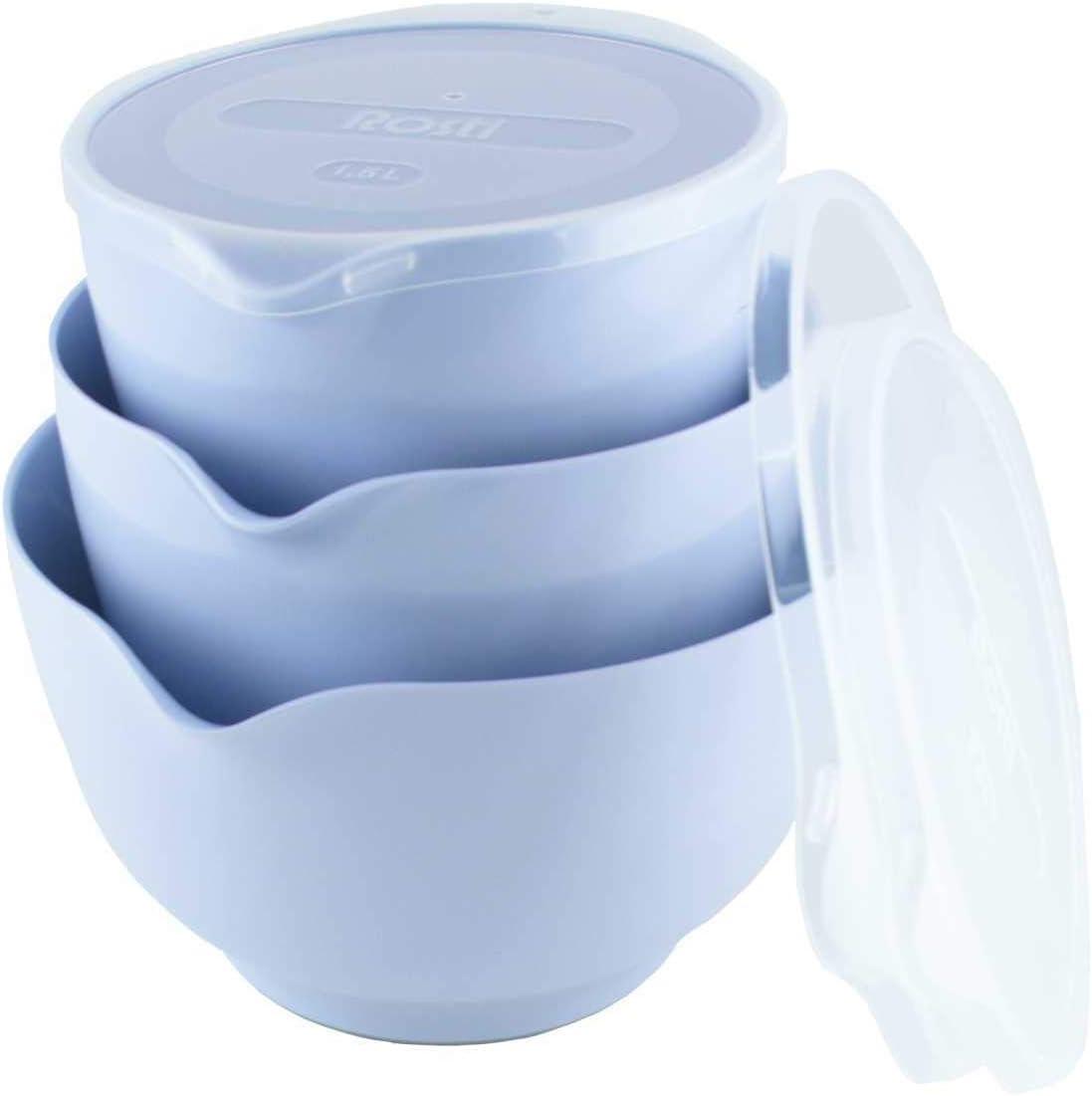 3 unidades, aprox. 1,5 + 2 + 3 L color azul Rosti Margreth Nordic RO-245293 8711269947976 Juego de cuencos