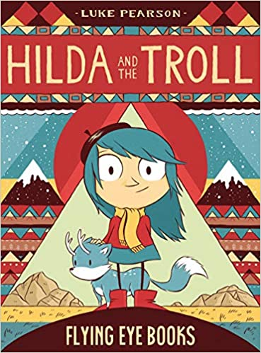 Image result for hilda and the troll book cover