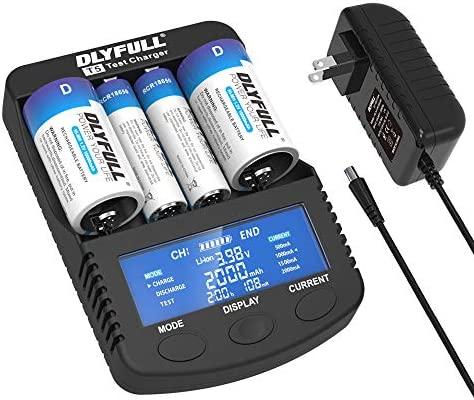 Amazon.com: Dlyfull Pro Super Fast Cargador de batería con ...