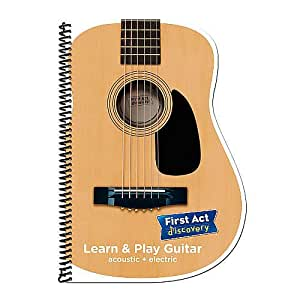 First Act Learn & Play Guitar Instruction Book