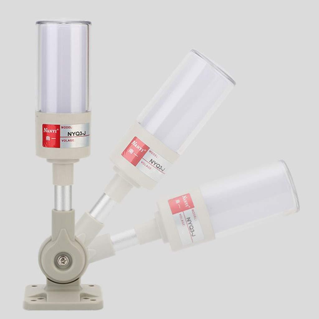 Homyl NY-Q3 Alarma Ac/ústico-/óptica de LED de Luces de Advertencia//Accesorio de Sistema de Alarma Industrial 12V//24V//220V