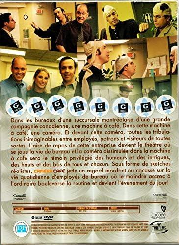 Caméra Café Québec Coffret Collection Saison 1 2002 2003 Saison 2 2003 2004 Saison 3 2004 2005 Saison 4 2005 2006 12 Disques Only French Version No English Options Régie