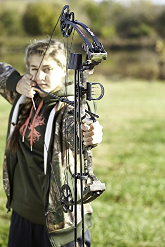 Barnett Vortex 45-Pounds Youth Archery Bow (Camo) by Barnett (Image #2)
