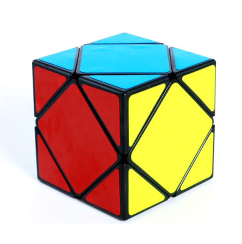 SHENSHOU Rubik's Cube Intelligence Puzzle Slant Rotate Smooth Cube Rubik,Blackedge,5.65.65.6Cm