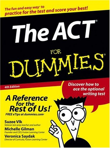 The ACT For Dummies -