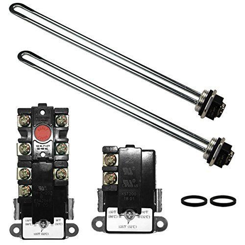 ZERO EWH-01 Electric Water Heater Tune-Up Kit, T-O-D style