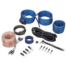 Rockville RWK10 10 Gauge Amp Installation Kit ANL Fuse Holder 100-Percent Copper RCA