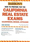 How to Prepare for the California Real Estate Exam, Jack P. Friedman and J. Bruce Lindeman, 0764131249