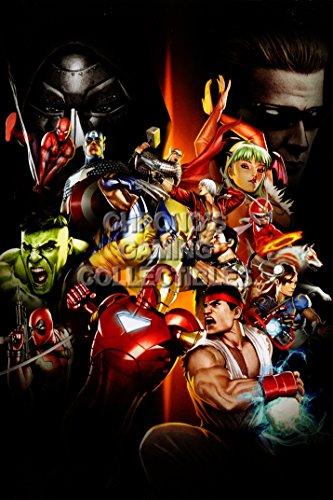 PremiumPrintsG - Ultimate Marvel Vs Capcom 3 PS3 PS4 Xbox 360 ONE Infinite - XEXT866 Premium Decal 11