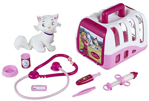 Theo Klein 4821 - Princess Coralie Vet's Kit With Cat And Accessories