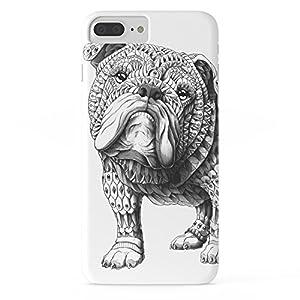 Roses Garden Phone Case Protectivedesign Cell Case English Bulldog Slim Case for iPhone 7 Plus 9