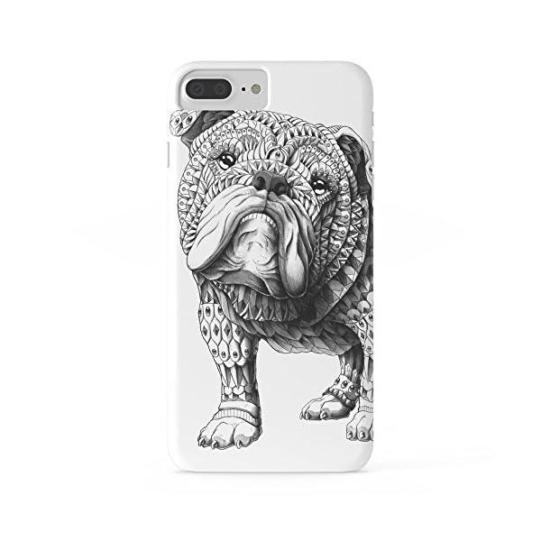 Roses Garden Phone Case Protectivedesign Cell Case English Bulldog Slim Case for iPhone 7 Plus 1