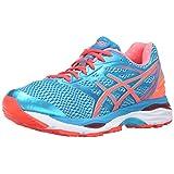 ASICS Women's Gel-Cumulus 18 Running Shoe, Aquarium/Flash Coral/Blue Jewel, 8.5 M US