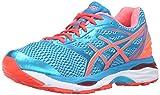 ASICS Women's Gel-Cumulus 18 Running Shoe, Aquarium/Flash Coral/Blue Jewel, 7.5 M US