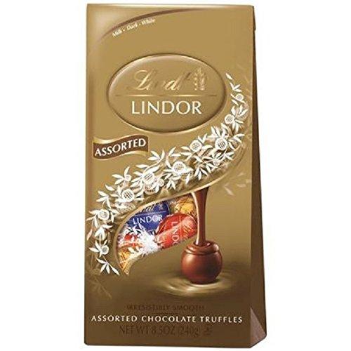 (Lindt Lindor Assorted Chocolate Truffles 8.5 oz)