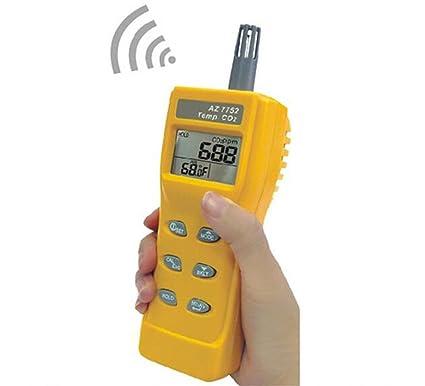 SSEYL AZ7752 carbon dioxide detector CO2 gas detector alarm AZ-7752 - - Amazon.com