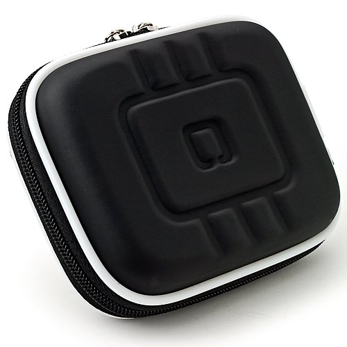 Limited Edition Black Eva Mini Hardshell Lightweight Carrying Case For Canon PowerShot Series Point & Shoot Digital Cameras
