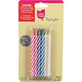 Cake Mate Candles Relight 12 Count Case Of 12