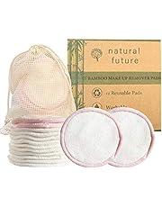 discos desmaquillantes reutilizables | 12 Discos Desmaquillantes | Hechos en Fibra de Bambú | Lavables | algodón ecológico | Aptos Para Todo Tipo de Pieles.