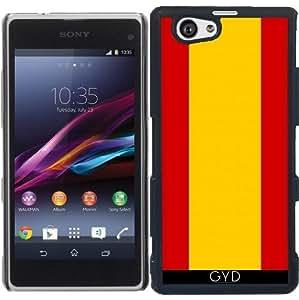 Funda para Sony Xperia Z1 Compact - Bandera De España by zorg