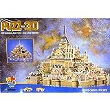 Puzz-3D Mont-Saint-Michel; 220 pcs 3-D Jigsaw Puzzle by puzz 3d