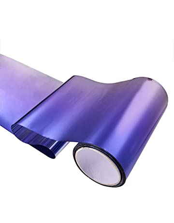 ATMOMO Purple Gradual Color Front Windshield Films Vinyl Car Wrap Sticker Decal Air Release Film 7.8