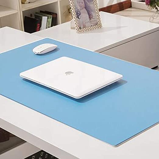 GGYDD Desk Mat Mouse Pad Protector Pu Leather Keyboard Pad Multifunctional Ultra Thin Mousepad Waterproof Writing Pad-e 1000x1000mm